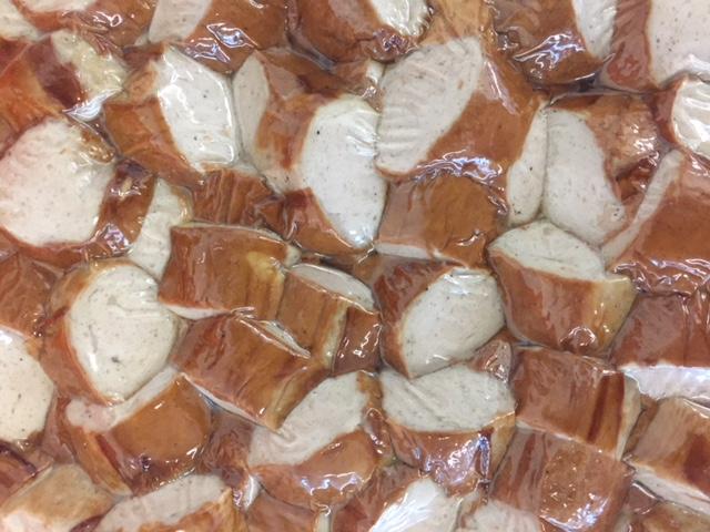 Damhus Bratwurst, gebraten-geschnitten, 3000g