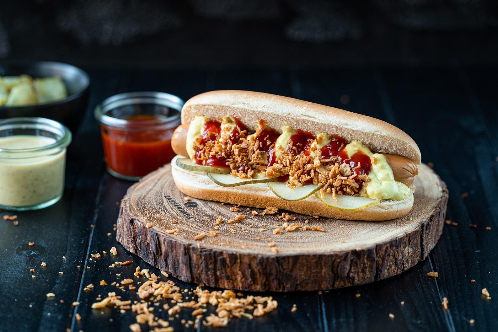 Damhus Puten Hot Dog, 25x60g, zarte Eigenhaut