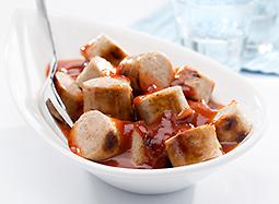 Damhus CurryKumpel, 220g, (110g Wurst & 110g Sauce)
